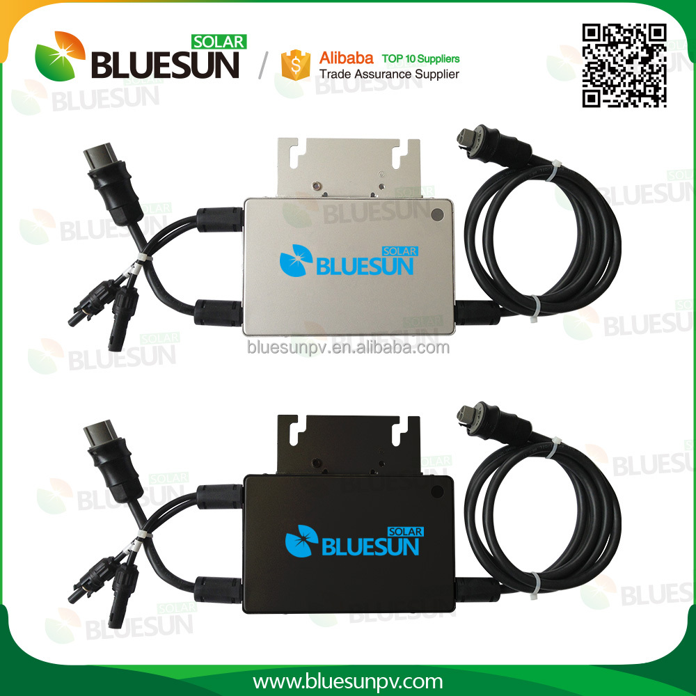 Bluesun high efficiency 100w solar micro control power inverter