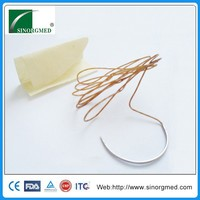 High quality sterile disposable surgical suture with needle