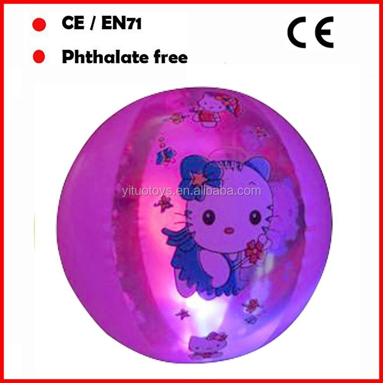 inflatable ball with led ball inside,beach ball with led inside,light light up beach ball