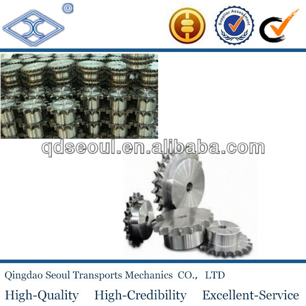 china carbon steel industrial roller chain sprocket DIN1407 standard steel different types industrial roller chain sprocket
