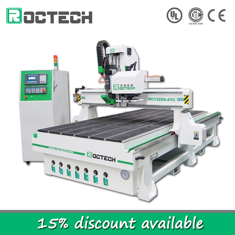 Widely Used CNC Machine For Sale RC1325S-ATC Woodworking Tool