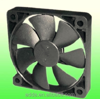 2016 hotselling ADDA 60*60*10mm AD6010 5v 12v 24v dc brushless computer cpu cooling high rpm 18v brushless 24v dc cooling fan
