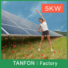 Solar power generator 5000W 6000W/solar panel system off grid 8KW 10KW/5kva solar power