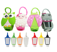 Promotion Gift Animal Design Silicone Hand Sanitizer Bottle Holder