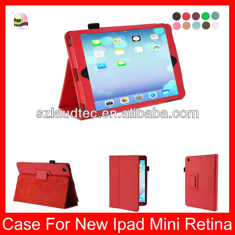 Folio Case for apple ipad mini 2 with Smart Magnetic Protective Cover Flip Stand
