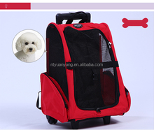 Outdoor pet carrier Portable dog kennel wheels