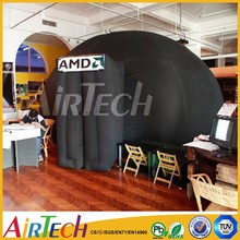 Inflatable Canopy Tent, fire-resistant astronomy tent,inflatable dome tent for rental