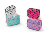 Glitter pvc kids zipper pencil pouches