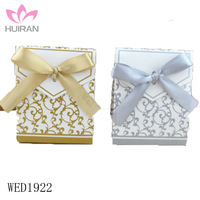 Ribbon Decorations Wedding Favor Box Packaging