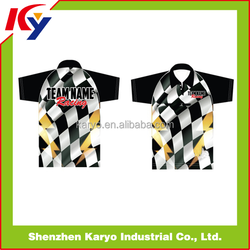 Dry-fit Motorcross Jerseys Custom Sublimation Motorcycle Racing Shirt