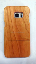 Nature Real wood case for samsung galaxy s6 edge wholesale