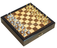 High quality new design custom wooden Chess Games chess box with drawer