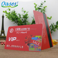 Cheap price membership card embossed numbers export