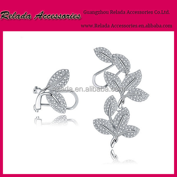 Factory wholesale latest tops simple gold and Platinum Plating earring designs for women