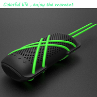 2016 New Style Music Mini Portable outdoor 3W silicone outdoor handsfree pick up hang up wireless speaker 50 watt