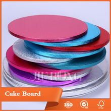 2017 Hot Products Customized Die Cut Corrugated Paper Cake Drum Boards