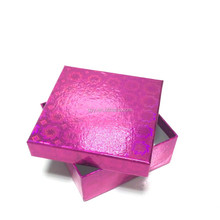 Pink Hologram Paper Gift Box