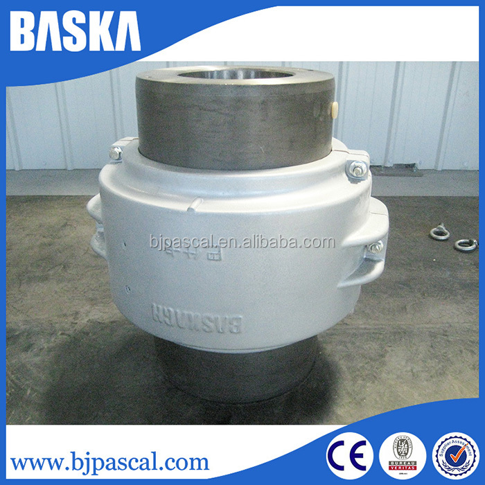 High Transmission Efficiency hydraulic quick installation shaft coupling