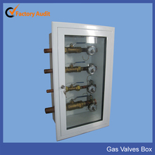 Medical Gas Control Valve Box in Hospital