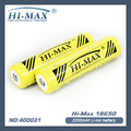 2200mAh For li-ion 3.7V 18650 flashlight batteries
