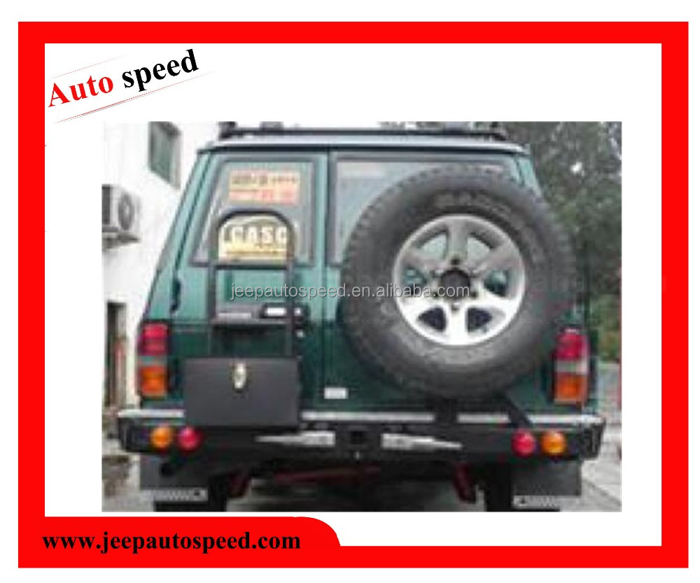Rear bumper for Nissan Patrol Y60 with tire carrier
