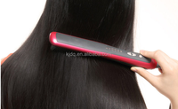 Best selling products hair straightener comb brush with LCD Fahrenheit digital display