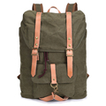 Vintage Large capacity vintage canvas laptop backpack /canvas travel backpack