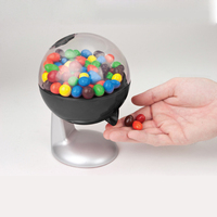 Gumball Machine Snack Dispenser Plastic Coinless Candy Vending