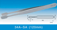 Antistatic Tweezer ESD Tweezer SA Series Super FineHigh Precision Stainless Steel Tweezers 34A-SA