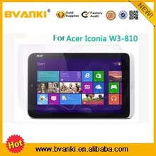 Amazon mobile phones high clear Screen Protector for Acer Iconia W3-810 tablet pc accessories