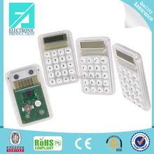 Fupu solar cell price Transparent Calculator Solar Panel desktop Calculator