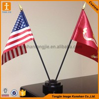 Wholesale table flag stand, desktop flags