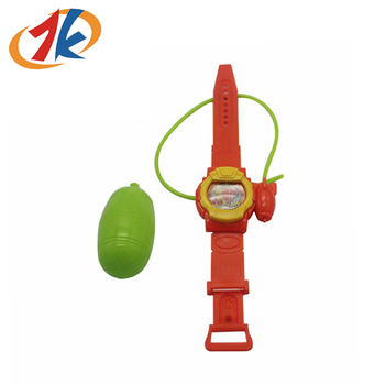 Golden Supplier Plastic Toys Watch Shape Water Toys For Kids