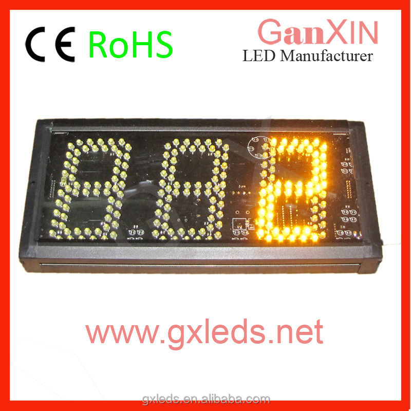 5 inch 3 digit queue management system led display indoor led counter display