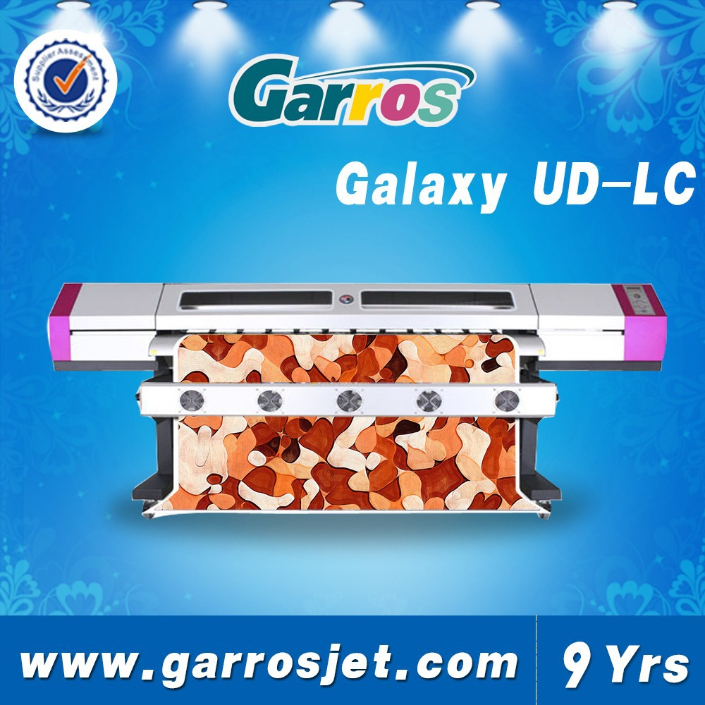 High resolution New design Insert Ink supply system 1.8m Galaxy ud181lc printer