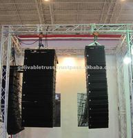 indoor exhibition truss stand, speaker truss, speaker and lighting truss