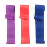 colorful Latex resistance band fitness band