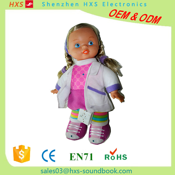 OEM Recordable Electronic Child Doll Music Box