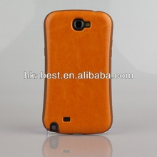 Innovative Design Luxury Leather TPU Case For Samsung Galaxy Note 2 N7100