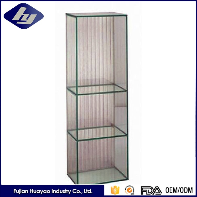 4 19mm Thick Tempered Glass Show Cabinet Customized Decorative Glass Block Furniture Buy Glass