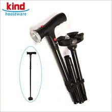 Good service old disabled person smart handles for walking stick