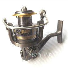 High Quality Fishing Tackle Spinning Fishing Reel With Metal Double Color Punching Spool