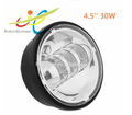 4.5'' 30W round led fog light for harley-davidson, passing lamp led fog light for motorcycle