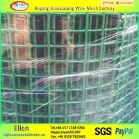 High quality Electro galvanized then pvc coated Weled Wire Mesh(factory)