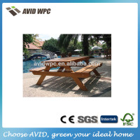 home depot suppliers wood plastic composite garden outdoor wpc dining table and chair