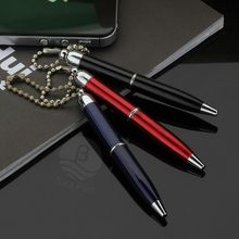 Hot Selling Refills 1.0mm Metal Ball Pen with Customized Logo for Promotion