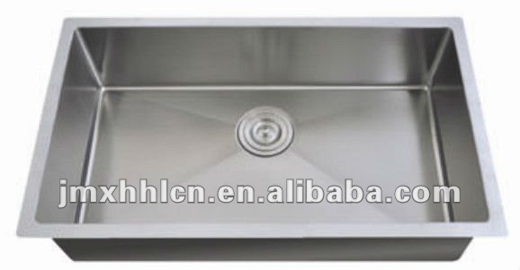 stainless steel handmade sink 3318A