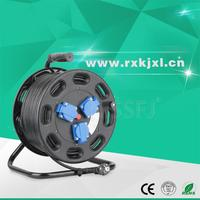 Best quality hand hold 100m steel cable extension lead reel drum
