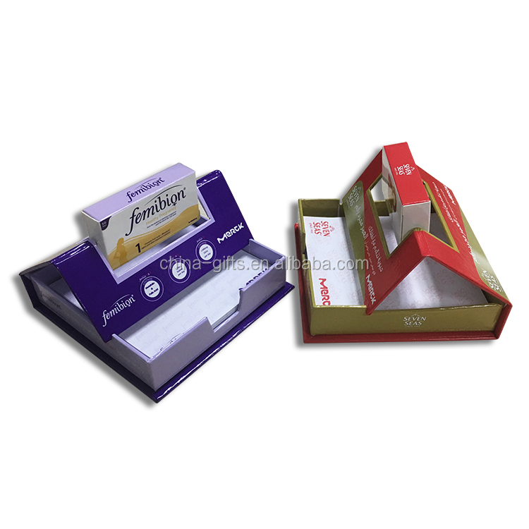 rolling memo box promotional gift item