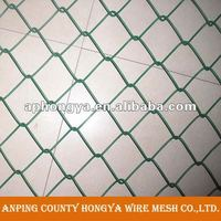 paint chain link fence black